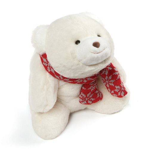 Snuffles with Scarf White Plush