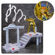 Saint Seiya Temple of the Giant Crab Battle Set Cancer Deathmask DD Panoramation Action Figure Diorama Stand