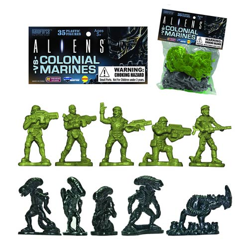 Aliens vs. Colonial Marines Army Builder Plastic Figure Bag