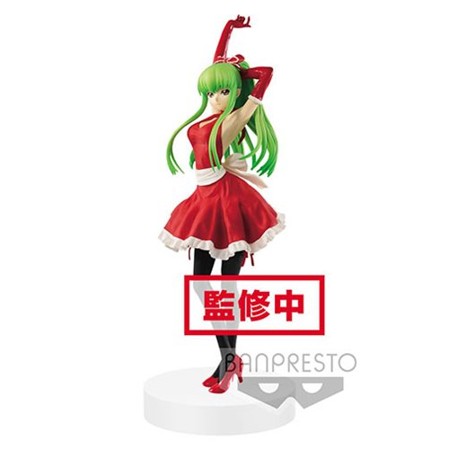 Code Geass: Lelouch of the Rebellion C.C. Apron EXQ Statue