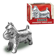 Monopoly Dog Oversized Token Bank, Not Mint