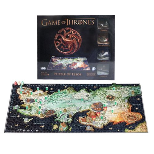 Game of Thrones Essos 4D Cityscape Puzzle