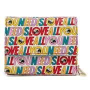 The Beatles All You Need is Love Tri-Fold Wallet