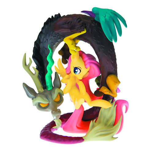My Little Pony Friendship Is Magic Discord Flutter On Deluxe Limited  Edition Resin Statue