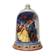 Disney Traditions Beauty and the Beast Rose Dome Enchanted Love by Jim Shore Statue