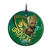 Guardians of the Galaxy Vol. 2 Baby Groot StarFire Prints Hanging Glass Ornament