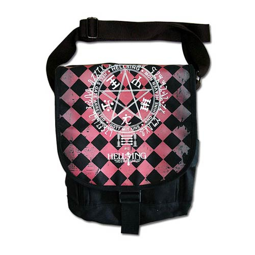 Hellsing Ultimate Magic Circle Messenger Bag