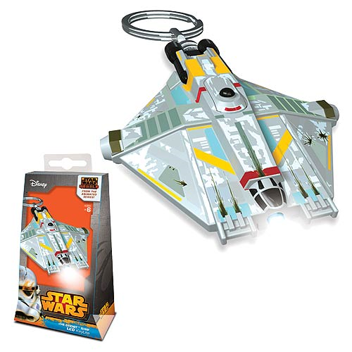 LEGO Star Wars Rebels Ghost Ship Key Chain Flashlight