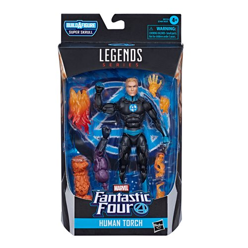 Fantastic Four Marvel Legends Human Torch 6-Inch Action Figure