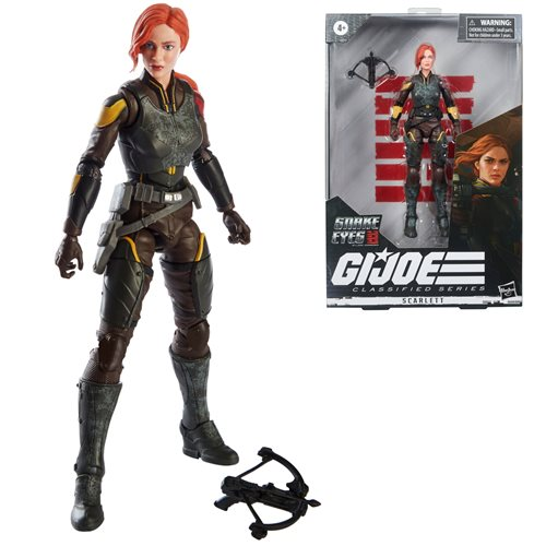 G.I. Joe Classified Series 6-Inch Snake Eyes: G.I. Joe Origins Scarlett Action Figure