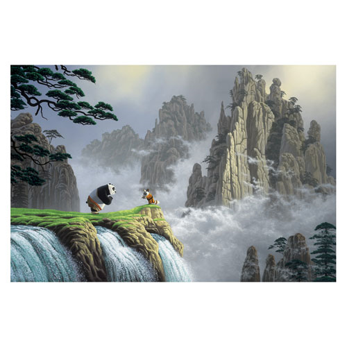Kung-Fu Panda Respect For All Things Large Canvas Giclee Print