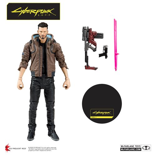 Cyberpunk 2077  V Male 7-Inch Action Figure