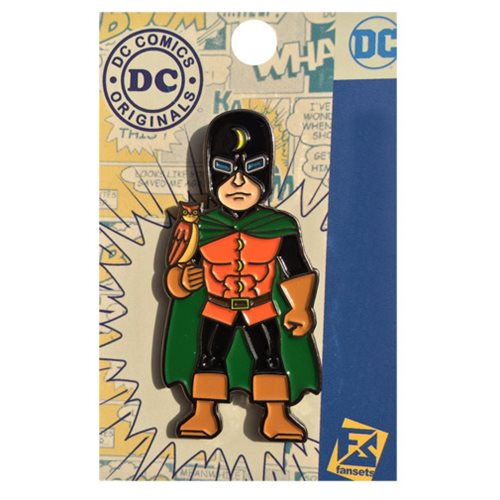 DC Comics Doctor Mid Nite Pin