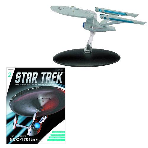 Star Trek Starships USS Enterprise NCC-1701 Vehicle with Collector Magazine