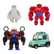 Big Hero 6 TV Series Squish Fit Baymax Figure with Vehicle