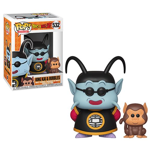Dragon Ball Z King Kai and Bubbles Pop! Vinyl Figure #532