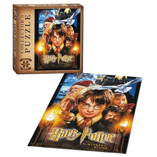 Harry Potter and the Sorcerer's Stone 550-Piece Puzzle