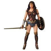 Batman v Superman: Dawn of Justice Wonder Woman MAFEX Action Figure - Previews Exclusive