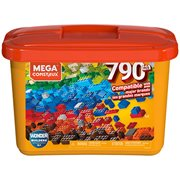 Mega Construx Wonder Builder Tub 790-Piece