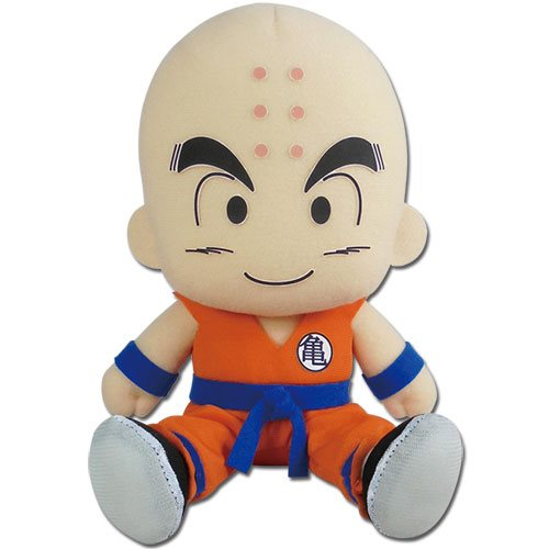 Dragon Ball Super Krillin Sitting 7-Inch Plush