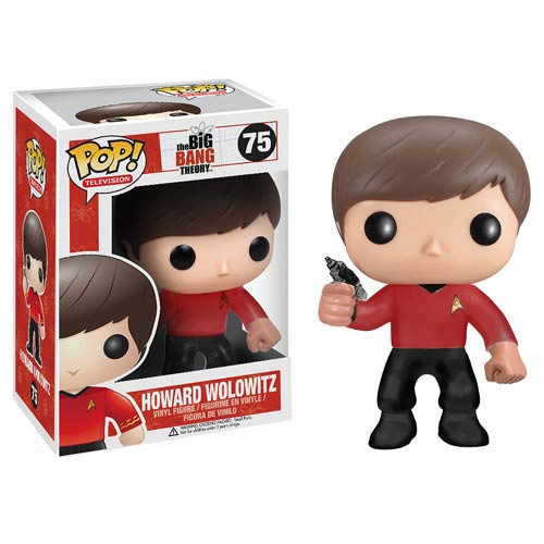 Star Trek Big Bang Theory Howard Pop! Vinyl Figure