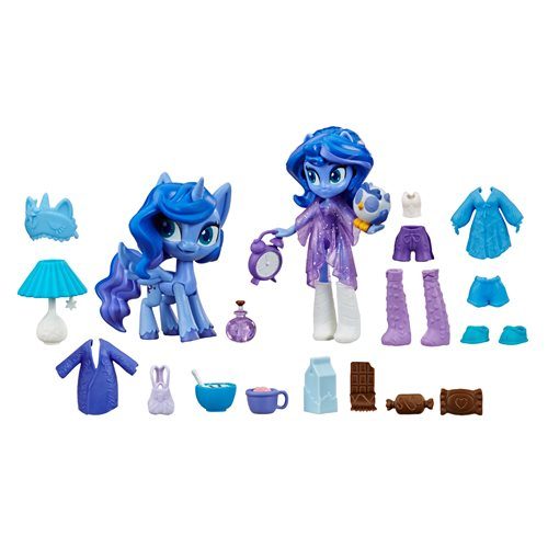 My Little Pony Equestria Girls Magic Mirror Princess Luna Doll, Not Mint