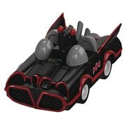 Batman 1966 TV Series Batmobile 80th Anniversary Pull Back Vehicle
