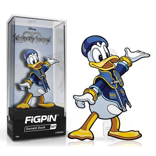 Kingdom Hearts Donald Duck FiGPiN Enamel Pin