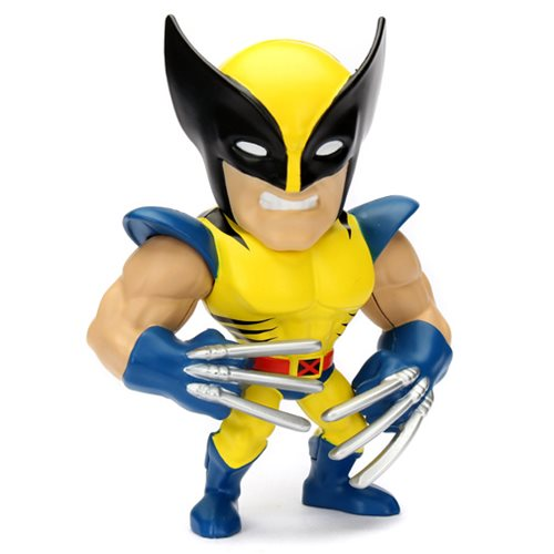 X-Men Wolverine 4-Inch Metals Die-Cast Metal Action Figure