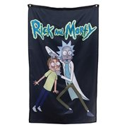 Rick and Morty Eyes Wide Open Banner