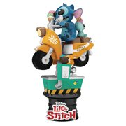 Lilo & Stitch Coin Ride DS-041 D-Stage 6-Inch Statue