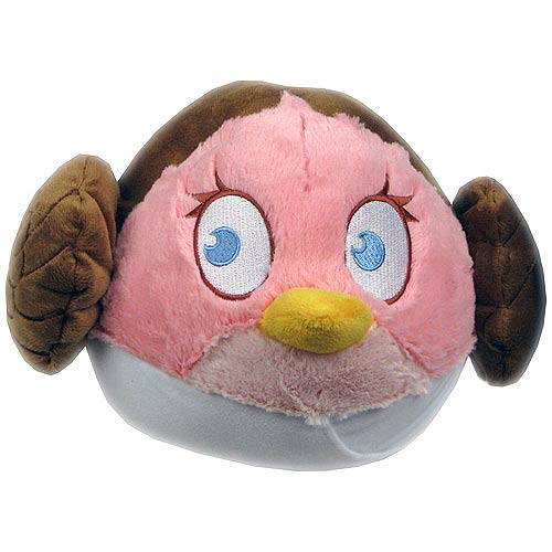 Star Wars Angry Birds Princess Leia 12-Inch Plush