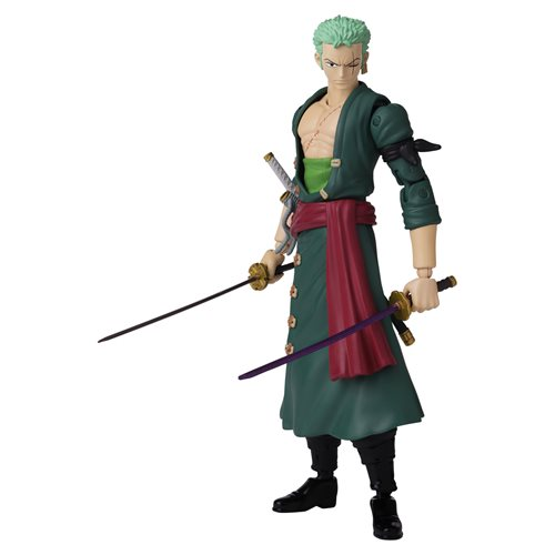 One Piece Anime Heroes Roronoa Zoro Action Figure