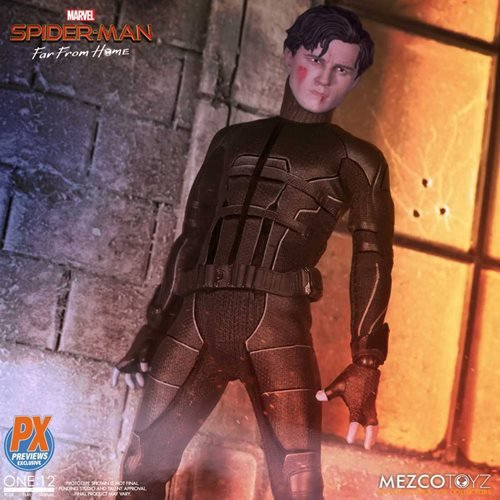 Spider-Man: Far From Home Stealth Suit One:12 Action Figure - Previews Exclusive