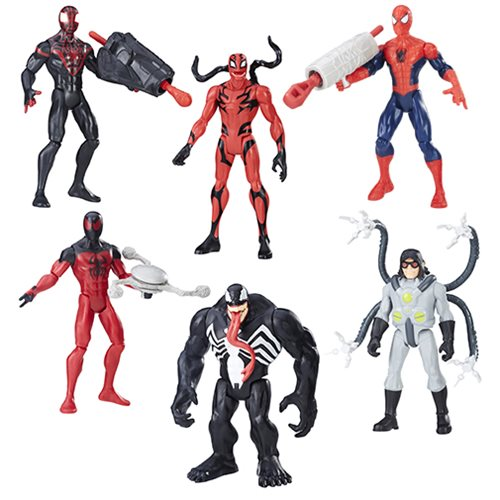 Spider-Man 6-Inch Action Figures 2017 Wave 2 Revision 1 Case