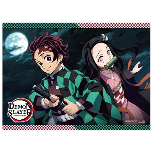 Demon Slayer Tanjirou and Nezuko B Wall Scroll