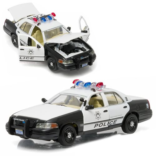 The Hangover 2000 Ford Crown Victoria Police Interceptor 1:43 Scale Die-Cast Metal Vehicle