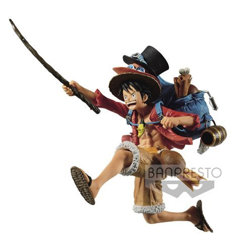 One Piece Monkey.D.Luffy Three Brothers Statue