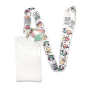 Hello Kitty in the Teacup Lanyard with Charm