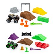 Monster Jam Monster Dirt Deluxe Set Playset Case