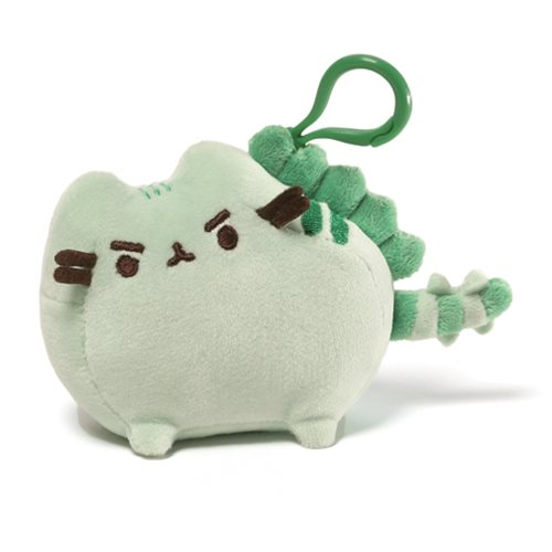 Pusheen the Cat Pusheenosaurus Clip-On Backpack Plush