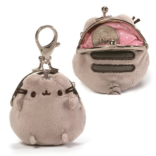 Pusheen the Cat Pusheen Gray 3-inch Coin Purse