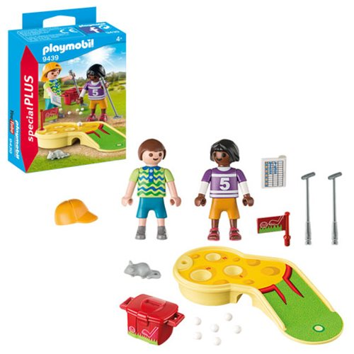 c65223b11a9 Playmobil Special Plus 9439 Miniature Golf Children Set. Skip to image 1 ...