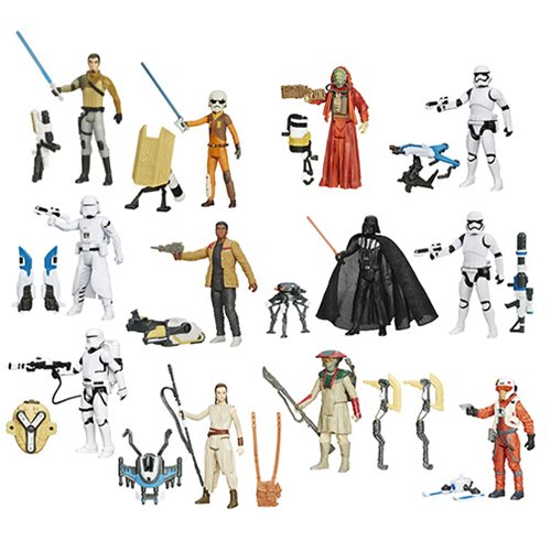 Jakku Star Wars VII Snow Desert Figures Wave 1 Finn 3 3//4 inch Action Figure