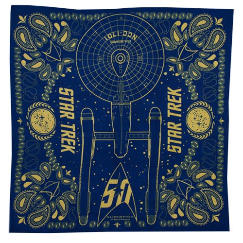 Star Trek 50th Anniversary Bandana