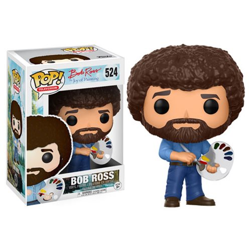 Bob Ross Pop! Vinyl Figure #524