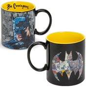 Batman DC Comics Be Courageous Mug