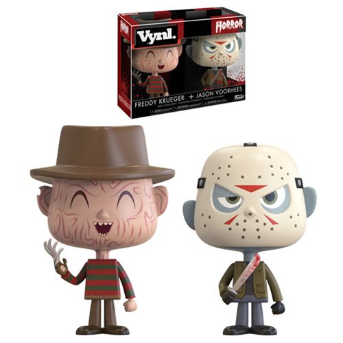 Horror Freddy and Jason Vynl. Figure 2-Pack