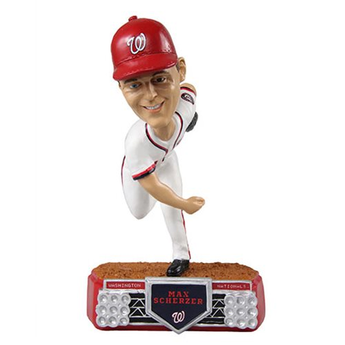 MLB Washington Nationals Max Scherzer #31 Stadium Lights Bobble Head