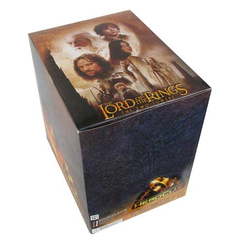 Lord of the Rings the Two Towers HeroClix Display Case